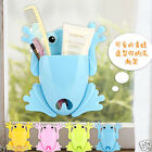 Animal Silicone Toothbrush Holder Family Set Wall Bathroom Hanger Sucker Cup