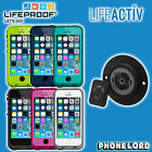 Genuine Lifeproof Fre waterproof case + Lifeactiv Multi mount iPhone 5 5S