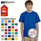 Gildan Youth Short Sleeves 100 % Ultra Heavy Cotton Kids T-Shirt M-G200B