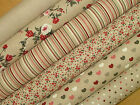 Natural Linen Look Fabric -  Curtains Blinds Upholstery Patchwork Quilting Use