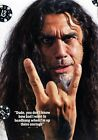 TOM ARAYA Slayer PHOTO Print POSTER Reign In Blood Repentless Show No Mercy 001
