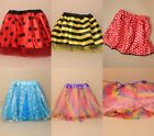 "CHILD SIZE SATIN & NET TUTU WITH , 15-28"", PARTY, DANCE, LADYBIRD, BUMBLE BEE"