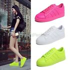 Womens Ladies 2015 New Lace Up Sport Plimsole Sneakers Trainers Shoes 1523-2