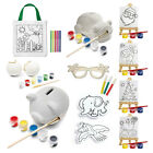 Children Decorate Your Own Gift Birthday Party Bag Filler Colour Paint Art Craft
