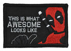 This is What Awesome Looks Like, Deadpool Parody - 2x3 Morale Patch