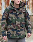 French Military Army Woodland CCE Camo MVP Waterproof Jacket Coat Parka *Goretex