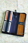 REAL LEATHER ZIPPED CASE CRIBBAGE SET WITH CRIB BOARD, MARKER PEGS & CARDS