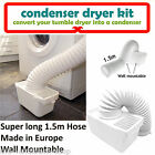 New White Vents Universal Tumble Dryer Indoor Condenser Vent Kit Box With Hose
