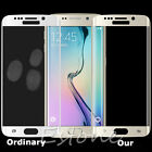 FULL COVER COVERAGE SAMSUNG GALAXY S6 EDGE Tempered Glass Screen Protector