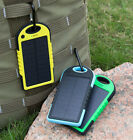 Waterproof 8000mAh Portable Solar Power Bank 2 USB Battery Charger Mobile Phone