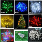 10M 100 LED Bulbs 110V Christmas Fairy Party String Lights Decoration Waterproof