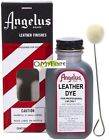 Angelus Leather Permanent Liquid Dye color Shoe Saddle Purse No Peel Crack 3oz