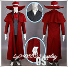 ACG HELLSING Alucard Cosplay Party Vampire Hunter Costume--Free shipping