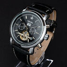 ORKINA 6 Hand Date Dial Automatic Leather Band Wrist Watch New