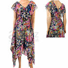 New Ladies Monsoon Pink Floral Lined Summer Sun Maxi Dress Size UK 12