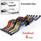 Extendable CNC brake clutch levers for YAMAHA T-MAX 530 2012 2013 2014