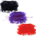 Skirt Frilly Tutu Fancy Dress Burlesque Outfit Costume Womens Plus Size Short