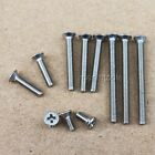 12Pcs Stainless Steel Phillips Flat Head Screws M3, 4, 5
