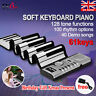 More images of 61 Keys Flexible Roll Up Portable Digital Electronic Soft MIDI Keyboard Piano