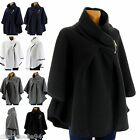 Mantle Coat Jacket Ample Big Size 38/54 - MATILDA - Woman - CharlesElie94