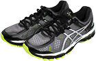 ASICS Gel-Kayano 22 Running Shoes Charcoal/Silver/Lime T547N.7393 Sz 8-13