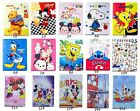 Luxury Cute Cartoon Girl PU Leather Smart Case Folio Cover Stand For Apple iPad