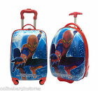 SPIDERMAN SUITCASE CABIN TROLLEY WHEELED TRAVEL LUGGAGE 2OR4 WHEEL IDEAL 4 KIDS