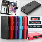 Smart PU Leather Wallet Flip Case Cover Card Money Purse For iPhone 4 6 6 Plus