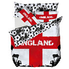 Catherine Lansfield England Football Bedding Single Duvet Quilt Cover Bed Set