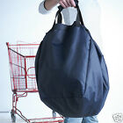5 x Large Reusable Grocery Tote Shopping Shopper Bag Supermarkets Trolley BN Red
