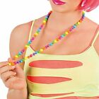 Multicoloured Neon Rave Beaded Necklace {Boland} (80s/Fancy Dress/Hen Party)