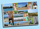 stunning collage canvas print picture custom personalised montage holiday gift