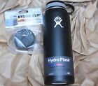 40 oz Hydro Flask INSULATED STAINLESS STEEL + CAFE LID water bottle hydroflask