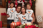Snowman T-Shirt Fancy Dress Novelty Funny Tees Men's, Ladies & Kids Sizes