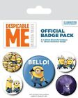 Despicable Me Bello Badge Pack 10x12.5cm