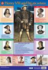 New Henry VIII and his Six wives Educational Children's Chart Mini Poster