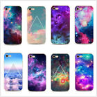 Trendy Galaxy Space Universe Pattern Hard Case Cover For Iphone 4 4s 5 6plus 7