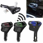 Bluetooth Auto MP3 Player FM Trasmettitore Car Kit USB SD MMC Card Slot + Remote