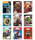MARVEL/DC PARTY LOOT BAGS - Range of Designs (Kids/Birthday/Gift)