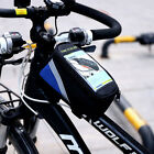 Cool Bicycle Cycling Bike Frame Front Tube Waterproof  Mobile Phone Bag Holder