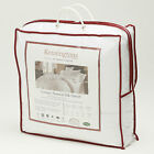 Natural Microfibre Silk Filled Luxury Duvet 18.0 Tog All Sizes 50/50