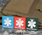 RESCUER GEAR MEDICAL TREATMENT 3D TACTICAL ARMY MORALE PVC RUBBER VELCRO PATCH