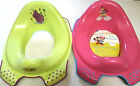 DISNEY NON SLIP CHILDRENS TOILET TRAINING SEAT  3 COLOURS TO CHOOSE  BPA FREE
