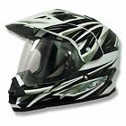 AFX FX-39DS Dual Sport Strike Helmet Motorcycle Bike Quad Street Off Road