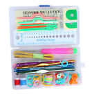 Set of Knitting Knit Craft Lots Basic Tools Accessory Supply Tool Case