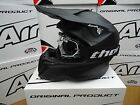New 2016 Airoh Twist Matt Black Helmet Thor Goggles Motocross Enduro S M L XL