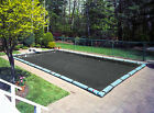 Robelle Mesh Winter In-Ground Winter Swimming Pool Cover with Water Tube Kit