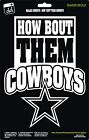 Dallas Cowboys Star NFL Football How 'Bout Them Boys Vinyl Decal Car Window on eBay