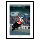 Barry Sheene Motorcycle Legend 1979 Photo Memorabilia (4SP)