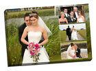 stunning collage canvas print picture custom personal personalised wedding gift